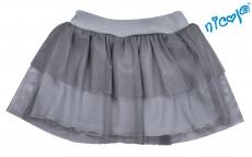 Dojčenská sukne Nicol, Baletka - sivá, veľ. 62