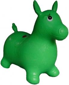 Artyk Gumový skákajúci oslík Edu & Fun - zelený