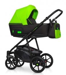 Dětský kočík 2v1, Riko 2019 - Swift Neon - Green