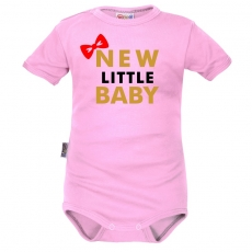 Body krátký rukáv Dejna New little Baby - Girl, růžová
