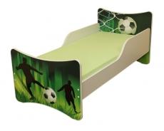 NELLYS Detská posteľ so zábranou Futbal 180x80 cm