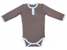 Mamatti Dojčenské body/polo Little Man - dlhý rukáv, veľ. 74