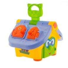 Euro Baby Interaktívna hračka Šikovný domček