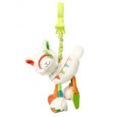 BabyOno Závesná hračka s vibrácií Lama Jane