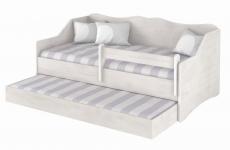 Babyboo Detská posteľ LULU 160 x 80 cm - Dub Sonoma