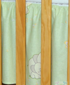 Mamo Tato Krásny volánik pod matrac - Slon zelený