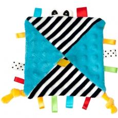Hencz Toys Mazlík šuštik s očičkama - modrý