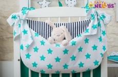 Baby Nellys Vreckár nielen na hračky Stars be Love - č. 5