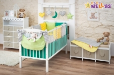 Baby Nellys Mega sada Be LOVE - Zelená / žltá