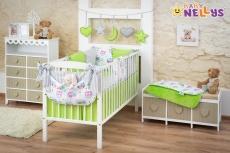 Baby Nellys Mega sada Be LOVE - Zelená / šedá - sovička
