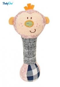 BabyOno Edukačná hračka - pískací - opička malá