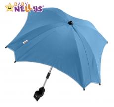 Slnečník, dáždnik do kočíka Baby Nellys ® - modrý