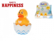 Teddies Kačička Roly Poly plast 8cm Baby's Happiness 6m +