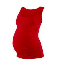 Tehotenský top JOHANKA - červená