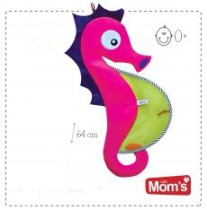 Hencz Toys Veselá sieťka na hračky Hencz - MORSKÝ KONÍK