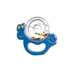 Hrkálka Slimák Canpol Babies - modrý