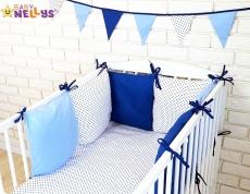 Baby Nellys Vankúšikový mantinel s obliečkami 135x100cm - č. Bl17