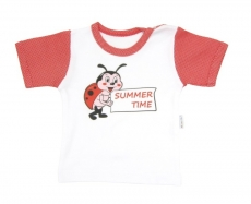 Tričko / košieľka krátky rukáv Mamatti - Chrobáčik v lete
