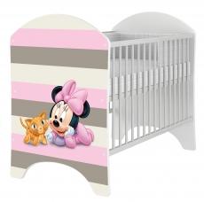BabyBoo Dětská postieľka Disney Baby Minnie - 120x60cm, D19