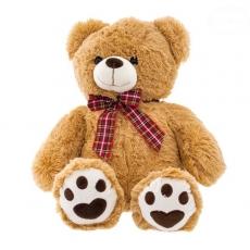Euro Baby Plyšový medvedík 46cm - sv. hnedý
