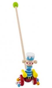 Drevená jazdiaca hračka Euro Baby - vojačik