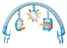 BabyOno Oblúk s hračkami - Charlie a Hannah