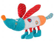 BabyOno Edukačná hračka - hrkálka - Psík Bob