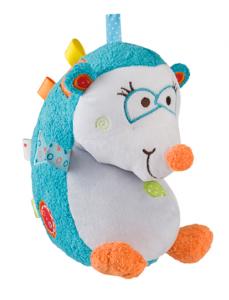BabyOno Edukačná hračka - hrkálka - Ježko Charlie