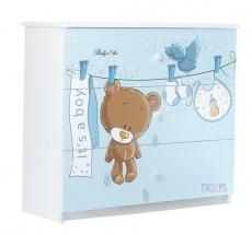 BabyBoo Detská komoda - Medvedík ÚŠKO, D19