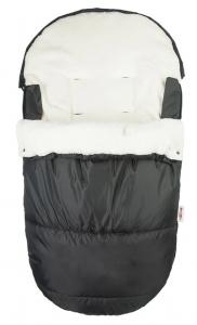 Fusak Delux Baby Nellys ®105x50cm - čierný