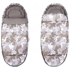 Fusák Maxi Baby Nellys ® 105x50cm - Army béžové