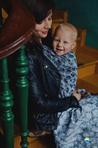 Little FROG Žakárová tkaná šatka na nosenie detí - Black Charm 59afb1b31e