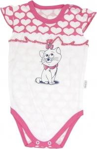 Body Mačka Srdiečko - na ramienka, roz. 92