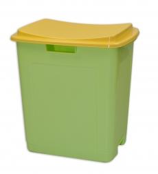 Plastový úložný box na hračky TOY&SIT- zelený