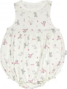 Body s nohavičkami Zajačik - na ramienka, roz. 80