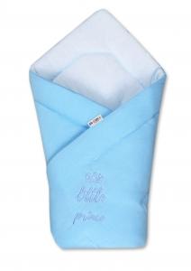 Baby Nellys Rýchlozavinovačka Little Prince - jersey - modrá
