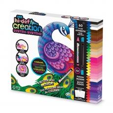 Rappa Sada kreatívnych Hi-Def voskových pasteliek s omaľovánkami