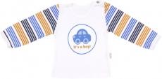 Mamatti Bavlnené tričko Boy - dlhý rukáv, veľ. 98