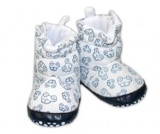 7ec19c2e31cd Zimné capačky botičky YO! - biele