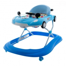 Euro Baby Multifunkčné chodítko s volantom - modré, Ce19
