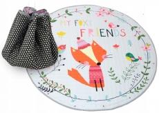 Tutumi Hracia deka - kôš na hračky 150 cm - Fox