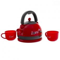 Euro Baby Detský čajový set - červený
