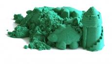 NaturSand Kinetický piesok - zelený - 2kg + formičky zadarmo