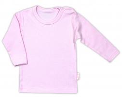 Bavlnená košieľka   podkošilka - ružová b6efdf10a2