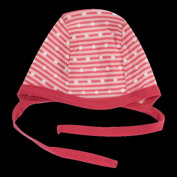 Mamatti Novorodenecká čiapočka Love Girl, červená, veľ. 62-#Velikost koj. oblečení;62 (2-3m)