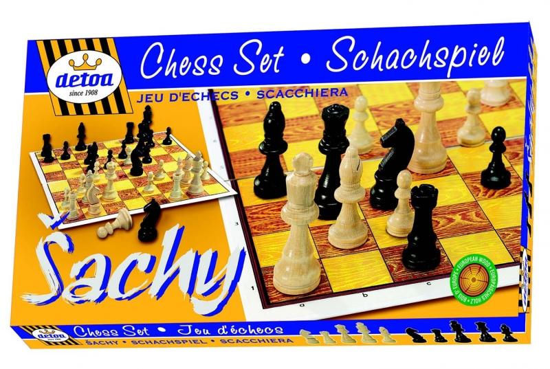 Hra Šach KLASIK, drevené
