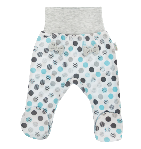 Polodupačky Bubble Boo, tyrkys/sivá-56 (1-2m)