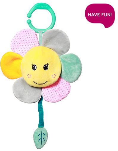 BabyOno Závesná plyšová hračka s melódiou - My Sunshine