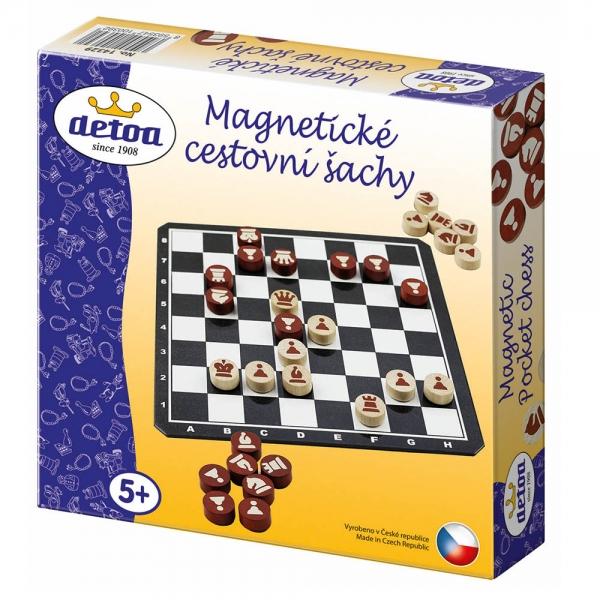 Šach magnetické cestovné