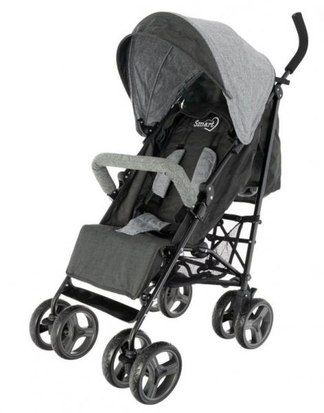 Euro Baby Športový kočík SMART - čierny, K19